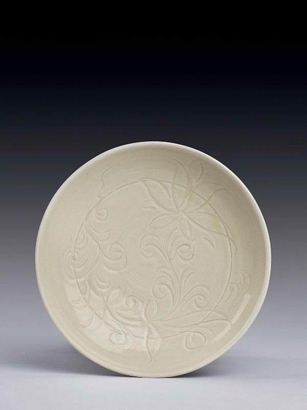 Ding porcelain dish