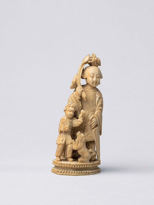 Ivory figural group