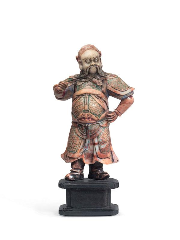 Soapstone figure of Guandi