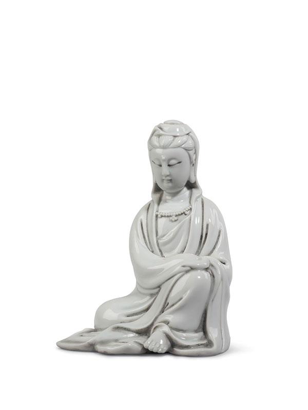 Dehua figure of seated Guanyin