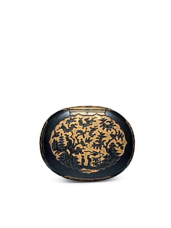 Sawasa oval tobacco box