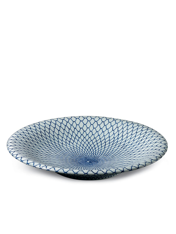 Porcelain Hirado ware dish