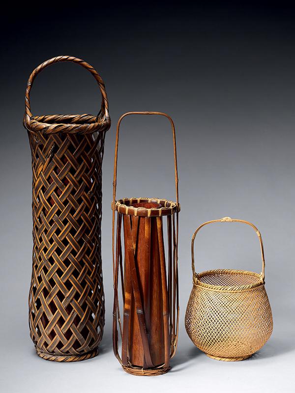 Bamboo Flower Baskets
