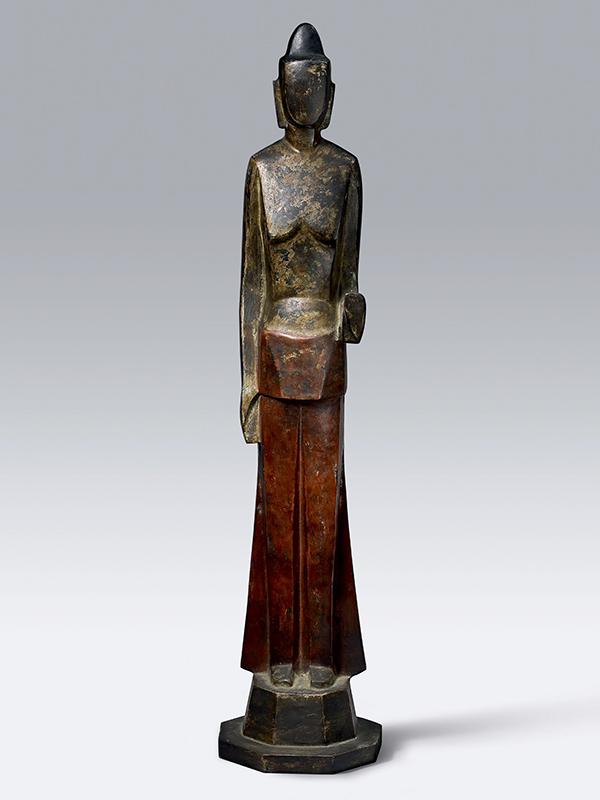 Bronze sculpture of Kannon Bosatsu, avalokitesvara