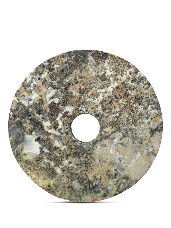Hardstone disc, bi