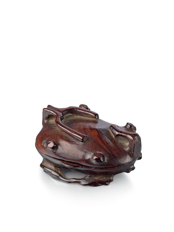 Huanghuali shaped miniature box