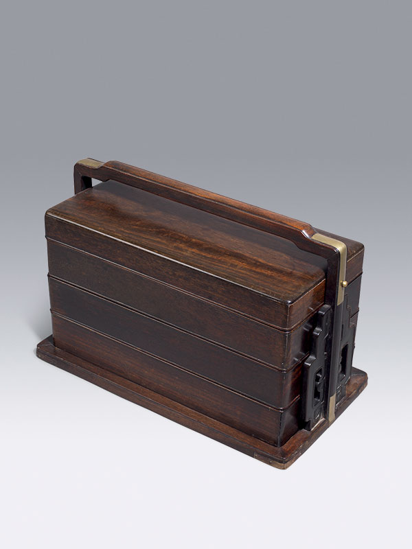 Zitan picnic or travelling box, tihe