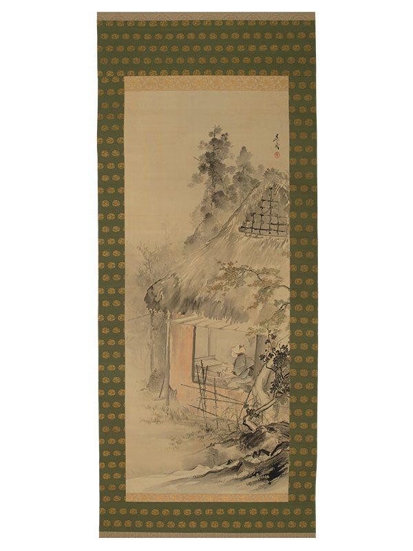 Scroll painting by Zeshin